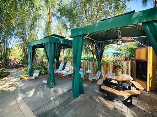 Roa's Rapids Family Cabanas at Aquatica Orlando