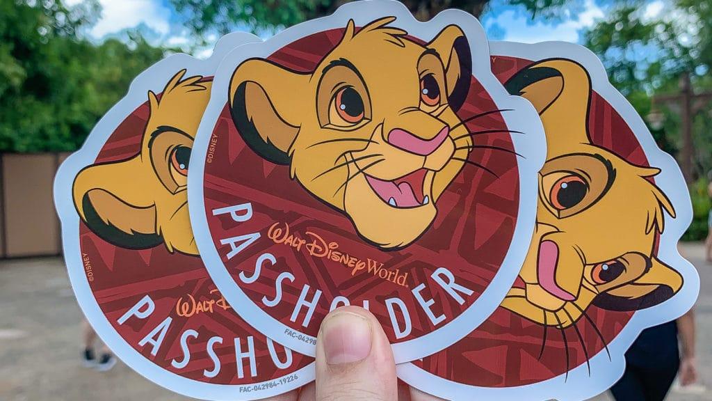 Simba Disney Passholder Magnet