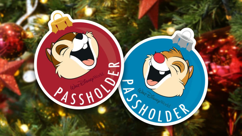 2019 Festival of the Holidays: Chip & Dale Passholder Magnets