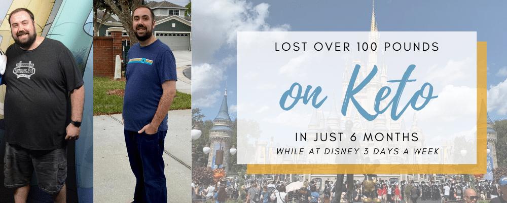 My Weight Loss on Keto at Disney World
